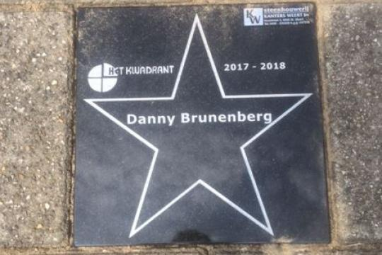 Uitreiking tegel Walk of Fame